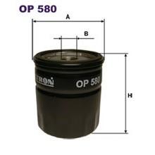 FILTRON filtr oleju OP 580