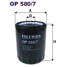 FILTRON filtr oleju OP 580/7