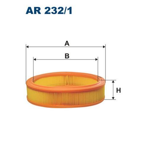 FILTR POWIETRZA FILTRON AR 232/1