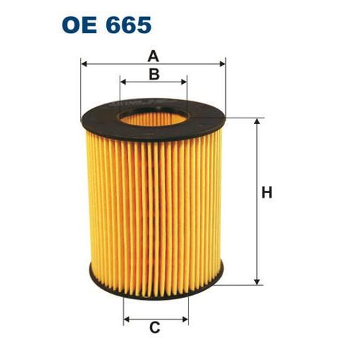 FILTRON filtr oleju OE 665