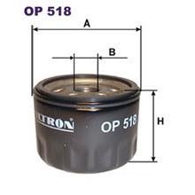 FILTRON filtr oleju OP 518
