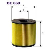 FILTRON filtr oleju OE 669