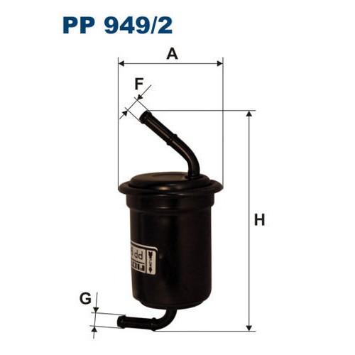 FILTR PALIWA FILTRON PP 949/2