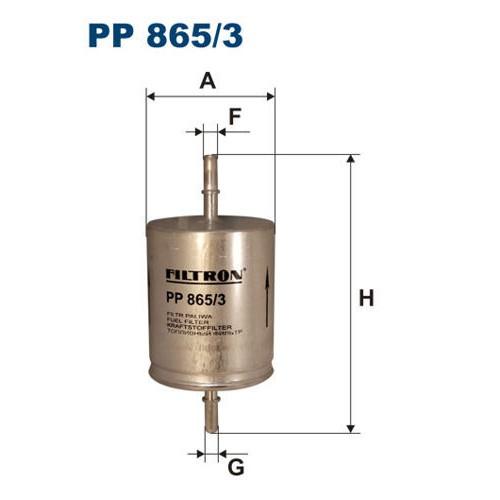 FILTR PALIWA FILTRON PP 865/3