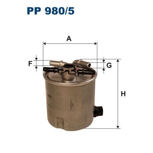 FILTR PALIWA FILTRON PP 980/5