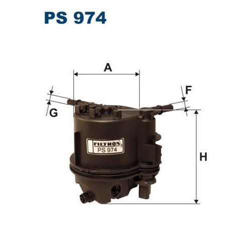 FILTR PALIWA FILTRON PS 974