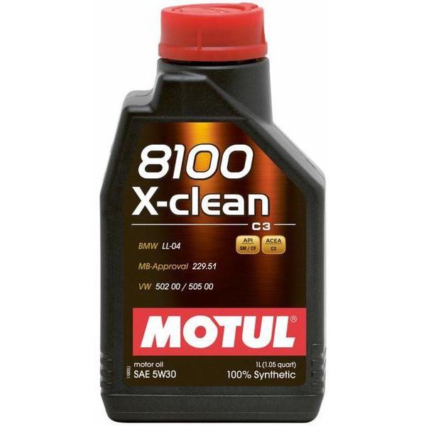 MOTUL 8100 X-CLEAN C3 5W-30 1L