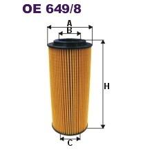 FILTRON filtr oleju OE 649/8