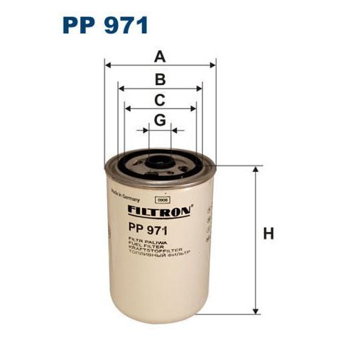 FILTR PALIWA FILTRON PP 971