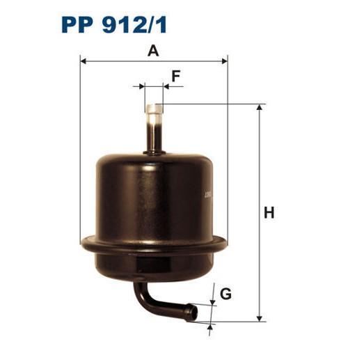 FILTR PALIWA FILTRON PP 912/1