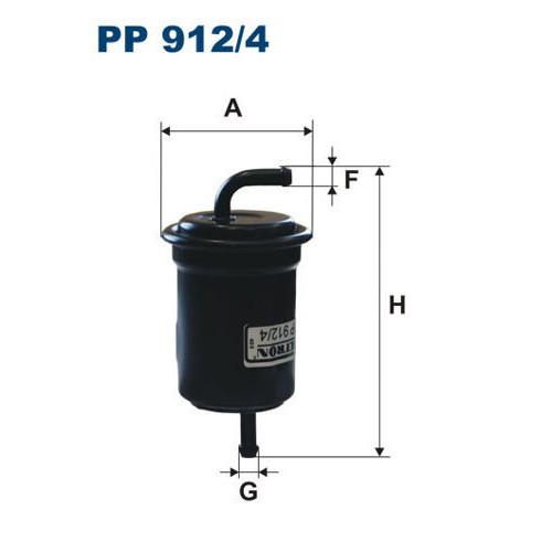 FILTR PALIWA FILTRON PP 912/4