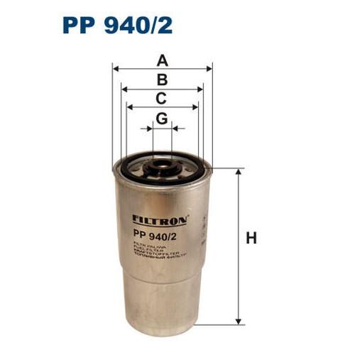 FILTR PALIWA FILTRON PP 940/2