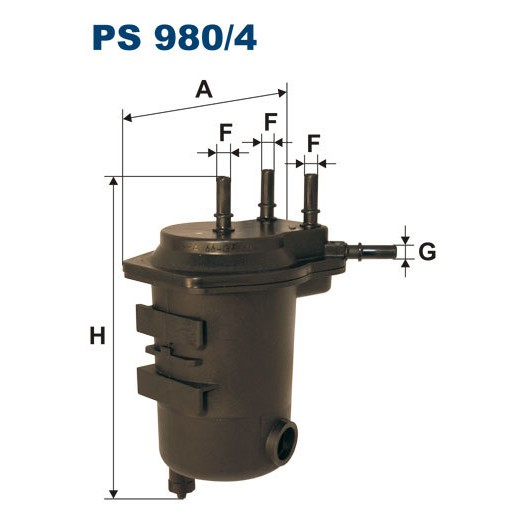 FILTR PALIWA FILTRON PS 980/4