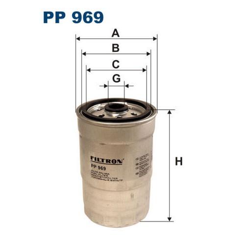 FILTR PALIWA FILTRON PP 969