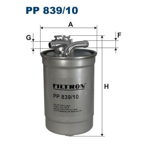 FILTR PALIWA FILTRON PP 839/10