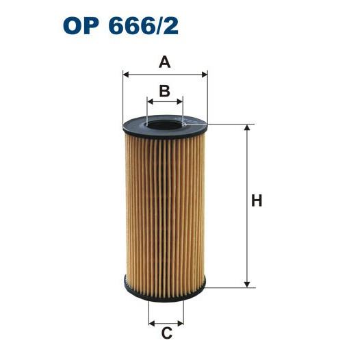 FILTRON filtr oleju OE 666/2