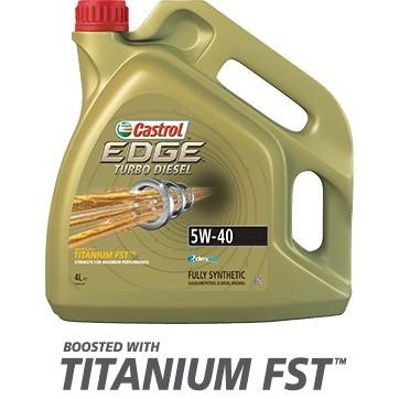 Olej silnikowy CASTROL EDGE TURBO DIESEL  5W-40 4L