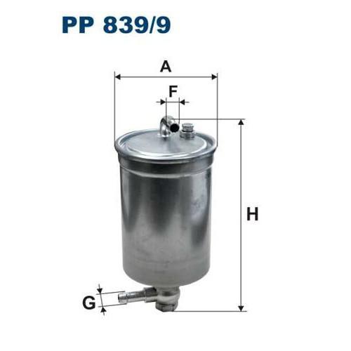 FILTR PALIWA FILTRON PP 839/9