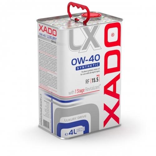 XADO LUXURY DRIVE 0W-40 4L