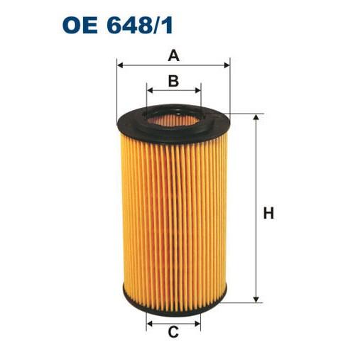FILTRON filtr oleju OE 684/1