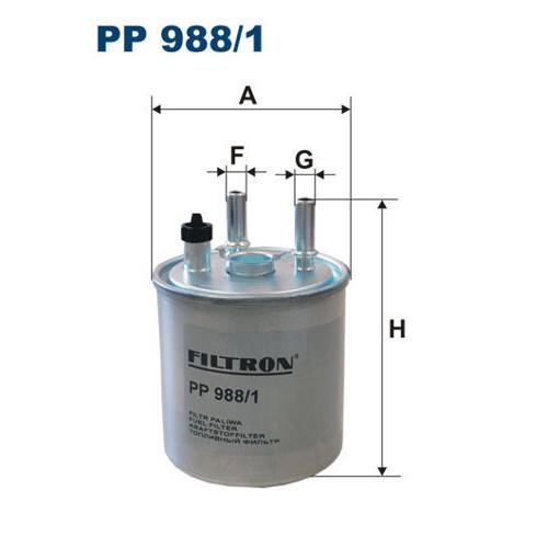 FILTR PALIWA FILTRON PP 988/1