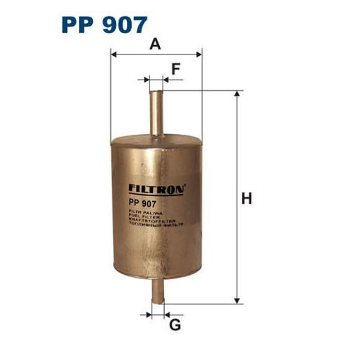 FILTR PALIWA FILTRON PP 907