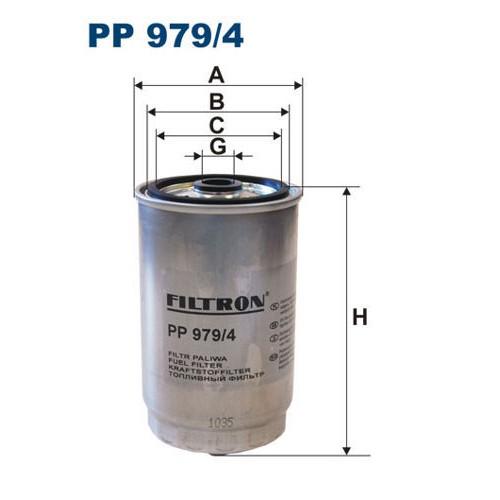 FILTR PALIWA FILTRON PP 979/4