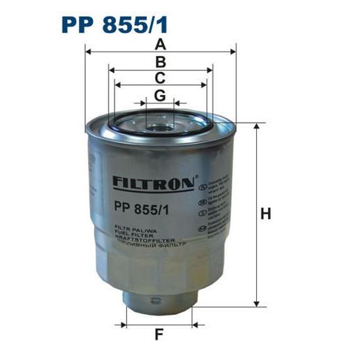 FILTR PALIWA FILTRON PP 855/1