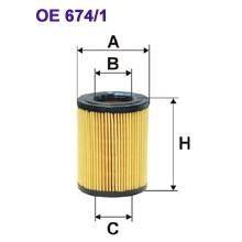 FILTRON filtr oleju OE 674/1