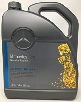 MERCEDES 5W-40 229.5 5L