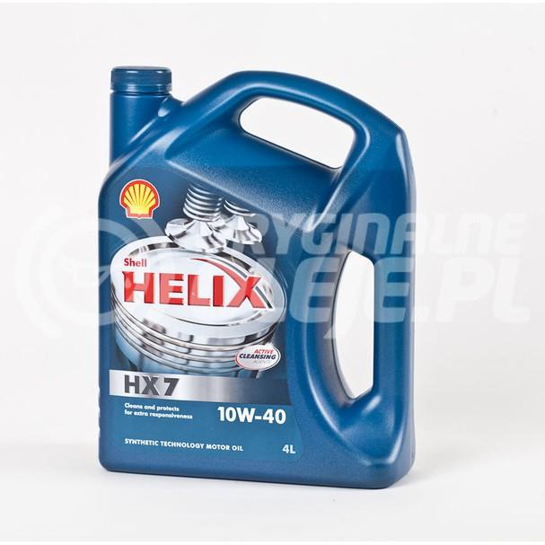 SHELL HELIX HX-7 10W-40 4L