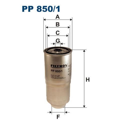 FILTR PALIWA FILTRON PP 850/1