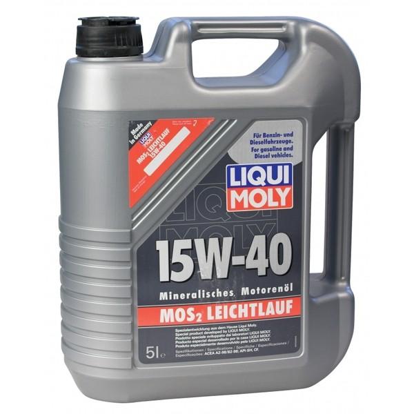 Liqui Moly MOS2-LEICHTLAUF 15W-40 2571 5L