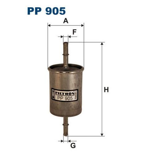 FILTR PALIWA FILTRON PP 905