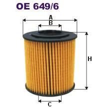 FILTRON filtr oleju OE 649/6