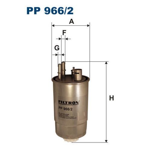 FILTR PALIWA FILTRON PP 966/2