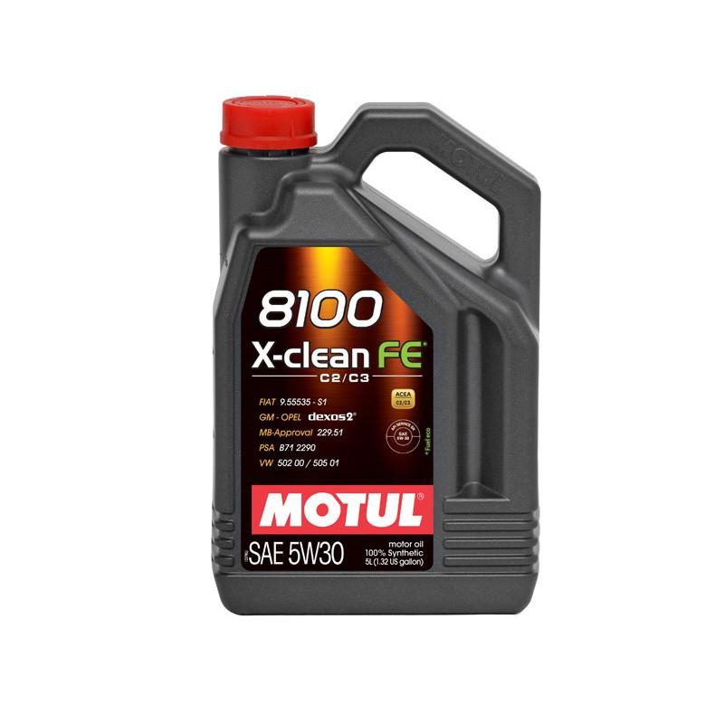 MOTUL 8100 X-CLEAN FE 5w-30 4L