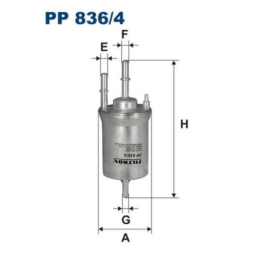 FILTR PALIWA FILTRON PP 836/4