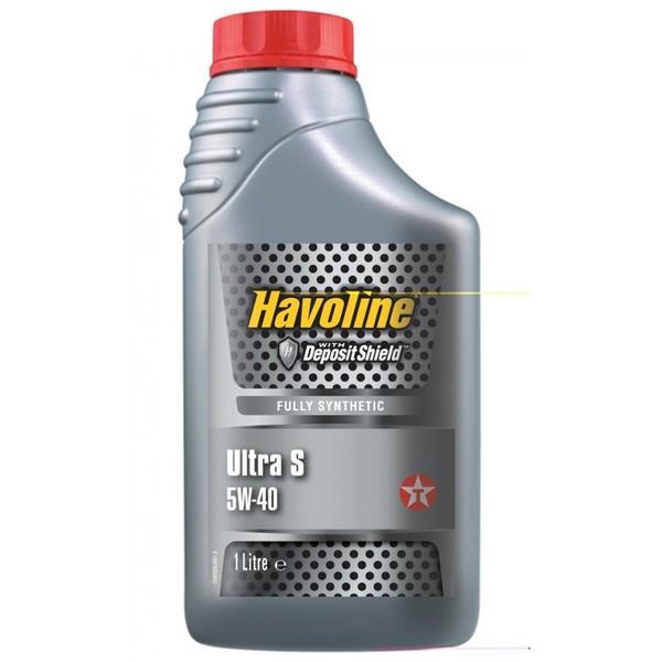 TEXACO HAVOLINE ULTRA S 5W-40 1L