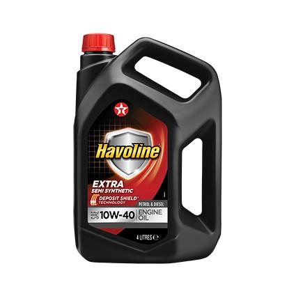 TEXACO HAVOLINE EXTRA 10W-40 4L