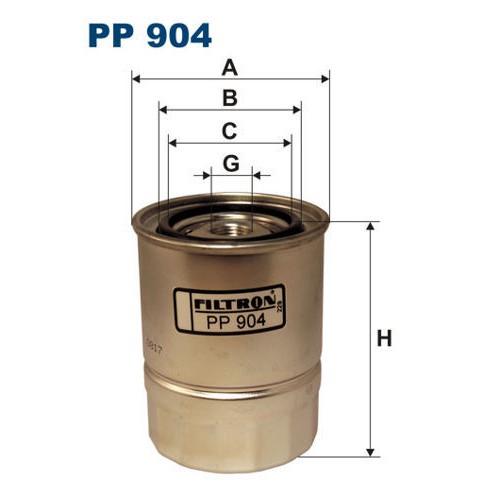 FILTR PALIWA FILTRON PP 904