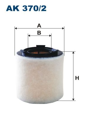 FILTRON filtr powietrza Ak 370/2