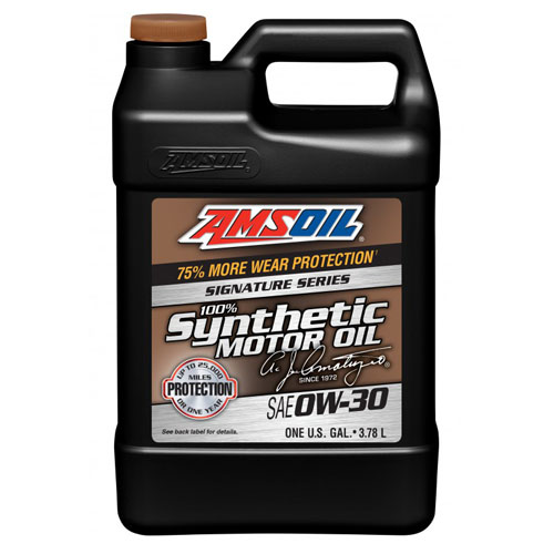 AMSOIL Signature Series 100% Synthetic 0W-30 3,8L AZO