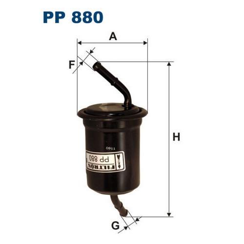 FILTR PALIWA FILTRON PP 880
