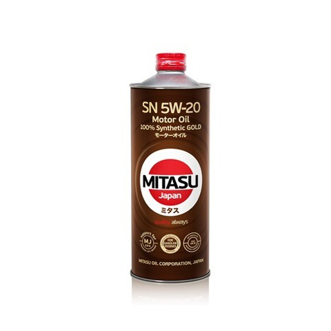 MITASU GOLD SN 5W-20 ILSAC GF-5 1L MJ-100