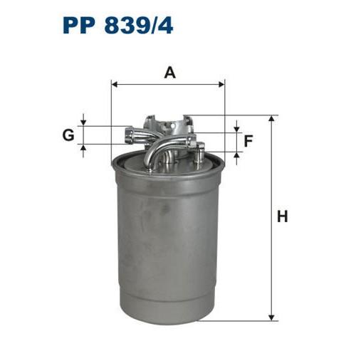 FILTR PALIWA FILTRON PP 839/4