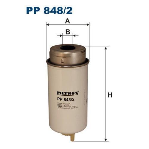 FILTR PALIWA FILTRON PP 848/2