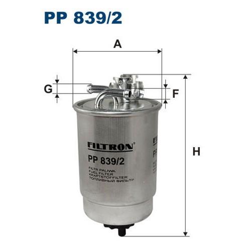 FILTR PALIWA FILTRON PP 839/2