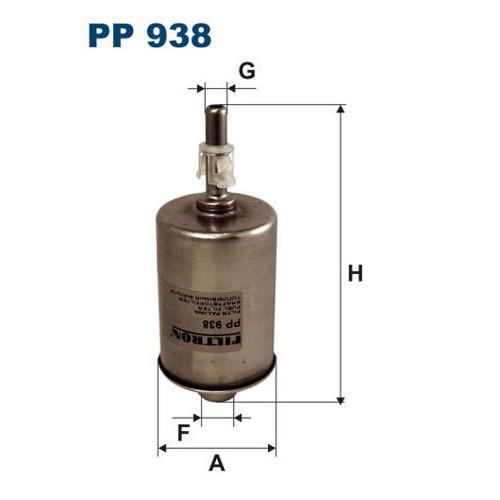 FILTR PALIWA FILTRON PP 938