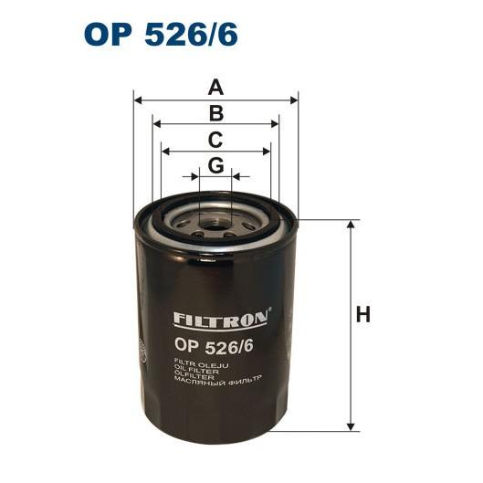 FILTRON filtr oleju OP 526/6